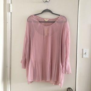 Adiva dusty pink blouse